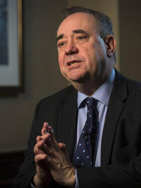First Minister of Scotland Alex Salmond, the leader of Scotland's separatist movement. REUTERS...
