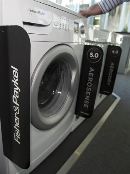Fisher & Paykel Appliances Holdings Ltd. washing machines. Photo supplied.