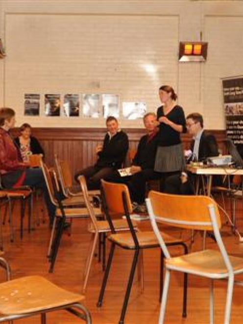 Five members of the public at last night's Dunedin City Council long-term plan roadshow took...
