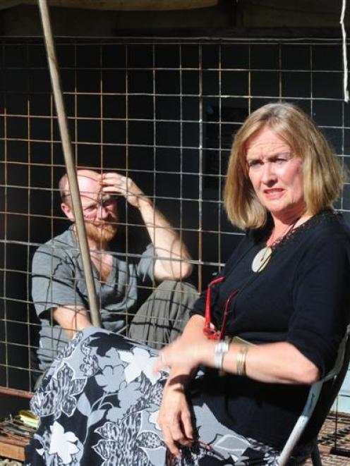 Flashback to April 2011 when Sue Kedgley talked to caged hen protester Carl Scott during his...