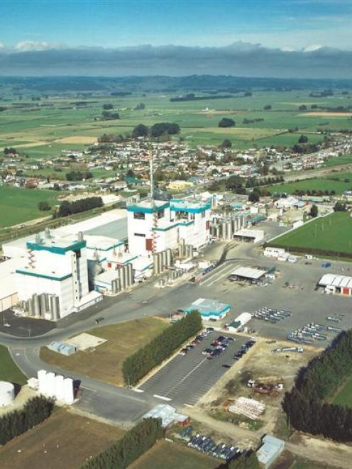 Fonterra has calculated its carbon impact across the dairy industry, such as at its Edendale...