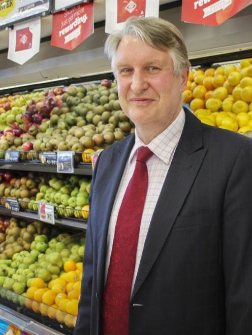Foodstuffs South Island chief executive Steve Anderson. Photo supplied.