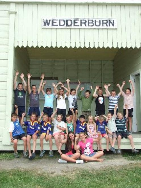 For a small rural community, the Wedderburn district boasts a high percentage of children...