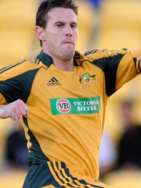 Former Australian bowler Shaun Tait, now a T/20 gun for hire.
