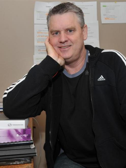 Former Brockville School principal Chris Cumberland hits the books again - this time to study law...