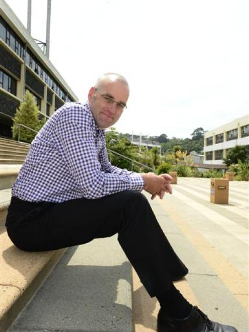 Former Dunedin City Council economic development unit manager Peter Harris is excited about his...