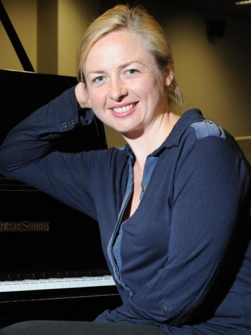 Former Dunedin conductor Holly Mathieson prepares to adjudicate at the Dunedin Performing Arts...