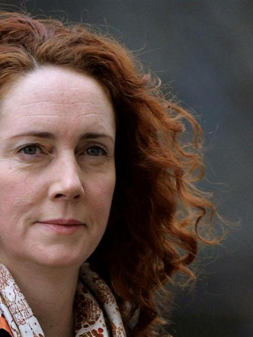 Former News International Chief Executive Rebekah Brooks arrives at the Old Bailey courthouse....