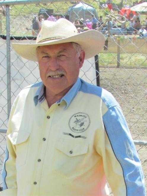 Former rodeo president Charlie Robinson has attended every one of the 25 Omarama Rodeos. Photos...