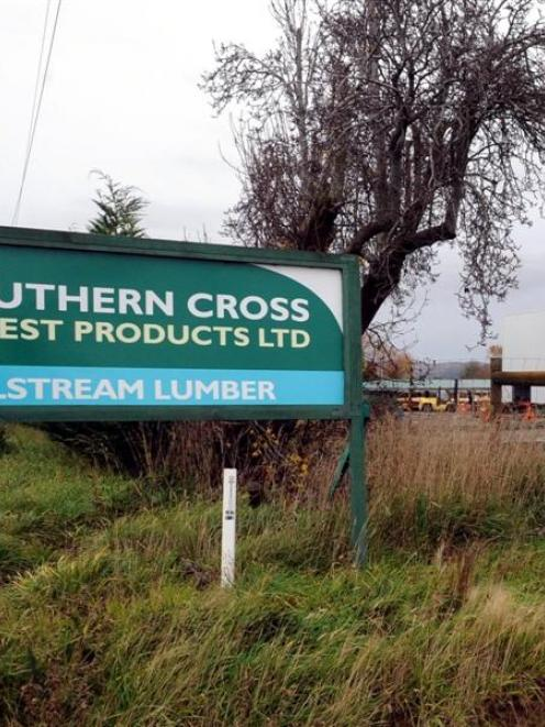 Four hundred staff of Southern Cross Forest Products  remain uncertain as to their future. Photo...