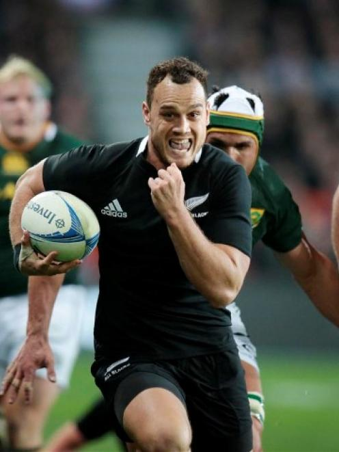 Fullback Israel Dagg was lethal on the counterattack for the All Blacks in 2012.
