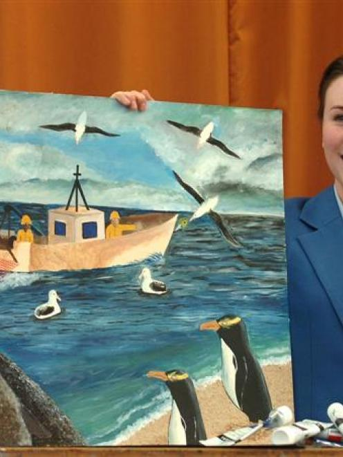Gemma Baldcock's skill with a paintbrush has made her an artist to watch in the future.