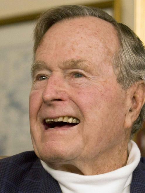 George H.W.Bush. Photo by Reuters
