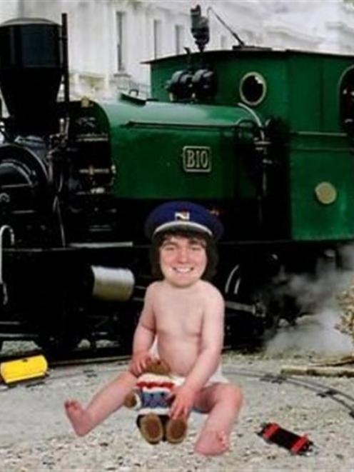 George King, the youngest in the country to receive his steam driver's ticket, features in the...
