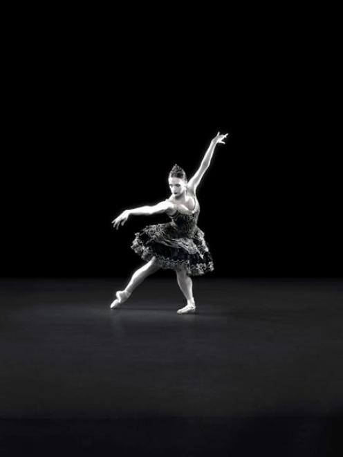 Gillian Murphy as Odile in the Royal New Zealand Ballet's production of <i>Swan Lake.</i>