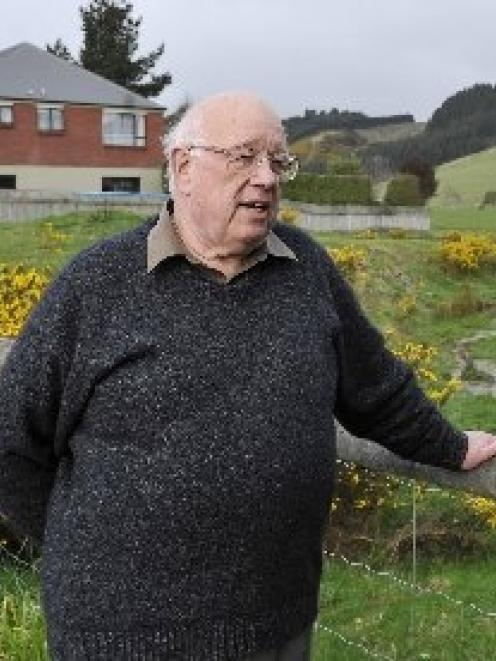 Gladstone Rd North resident Stan Rodger is opposed to a subdivision proposed for Mosgiel, which...
