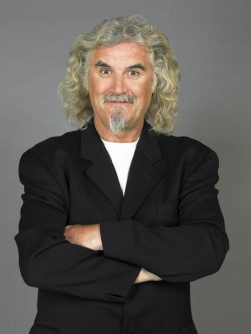 Glaswegian comedian Billy Connolly rides his High Horse Tour to Invercargill, Queenstown and...