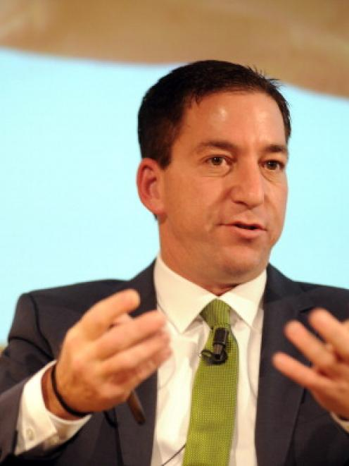 Glenn Greenwald. Photo Getty