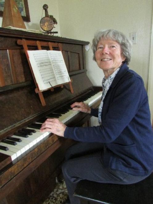 Glennie Jamieson plans to continue her  enjoyment  of music, after stepping down from City Choir...