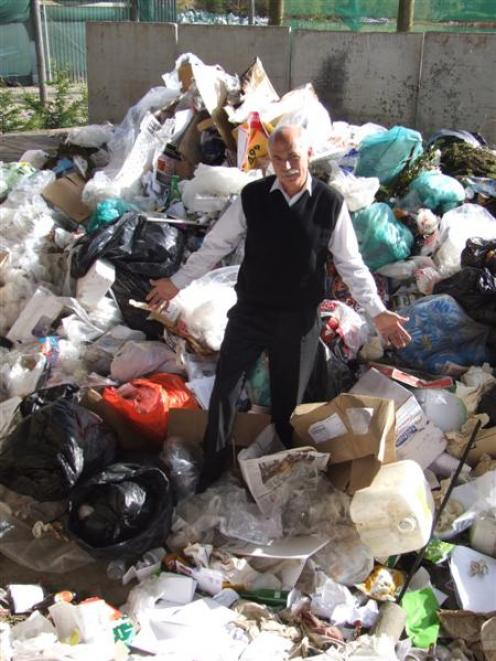 Gore District Mayor Tracy Hicks is looking forward to a more orderly rubbish collection system...
