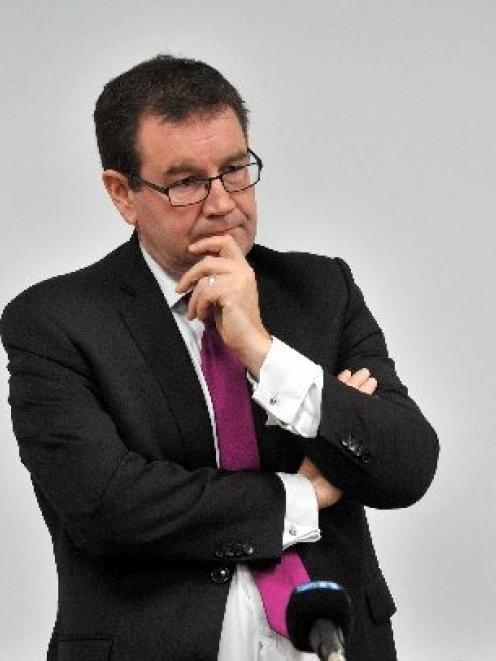 Labour finance spokesman Grant Robertson in Dunedin yesterday. PHOTO: LINDA ROBERTSON