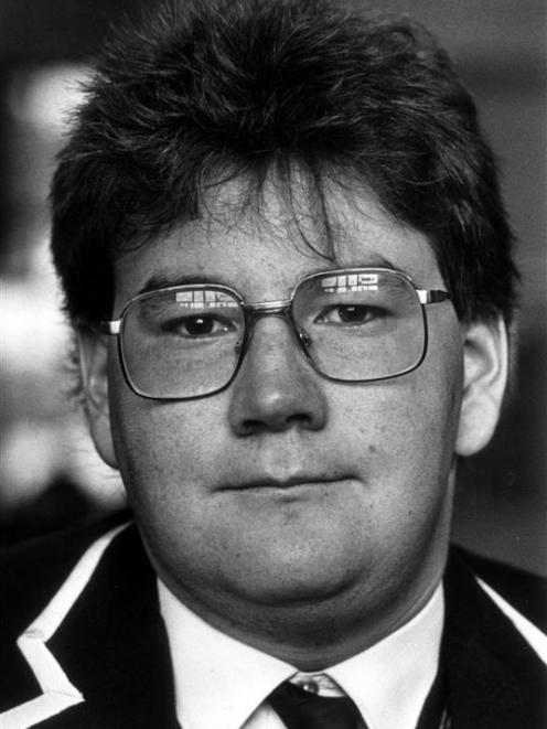 Grant Robertson, a King's High School pupil in the 1980s.