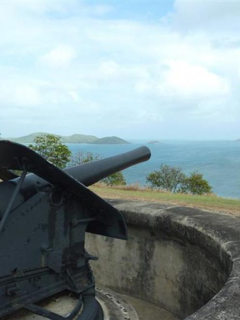 Green Hill Fort on Thursday Island in Torres Strait. Photos by Sarah Keen.
