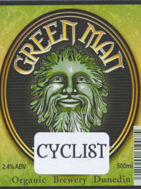 Green Man Brewery's label will have to stay. Photos supplied.