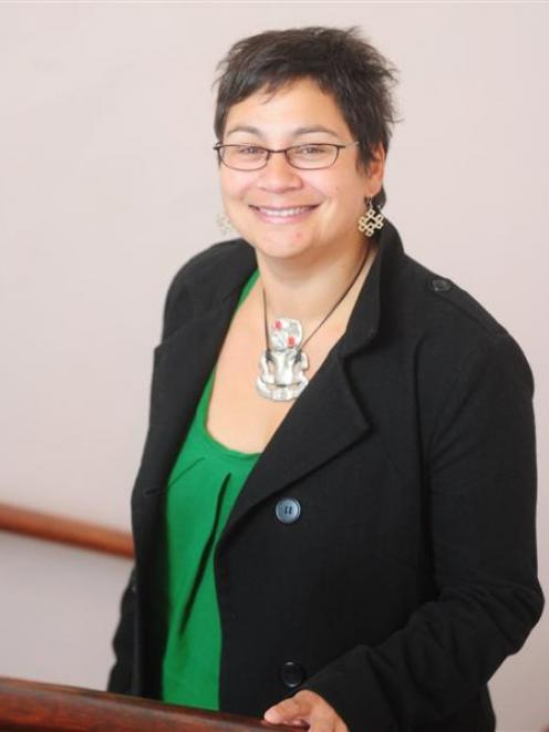 Green Party co-leader Metiria Turei in Dunedin for the festive season. Photo by Craig Baxter.