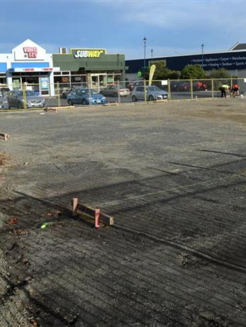 Ground work has begun on the site. Photo by Craig Baxter