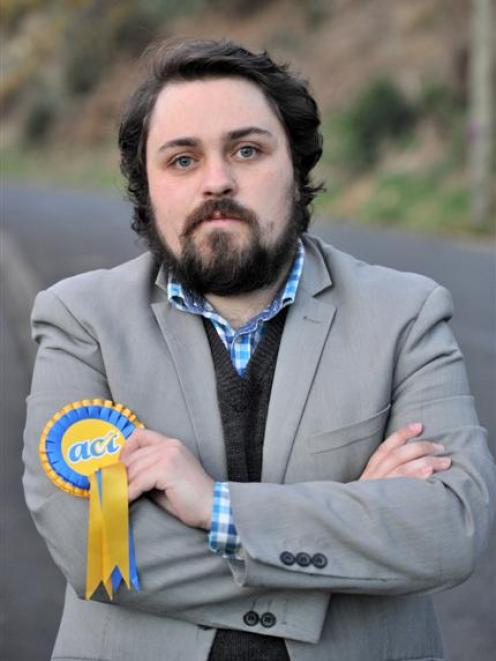 Guy McCallum, who has quit as Act's Dunedin North candidate. Photo by Linda Robertson