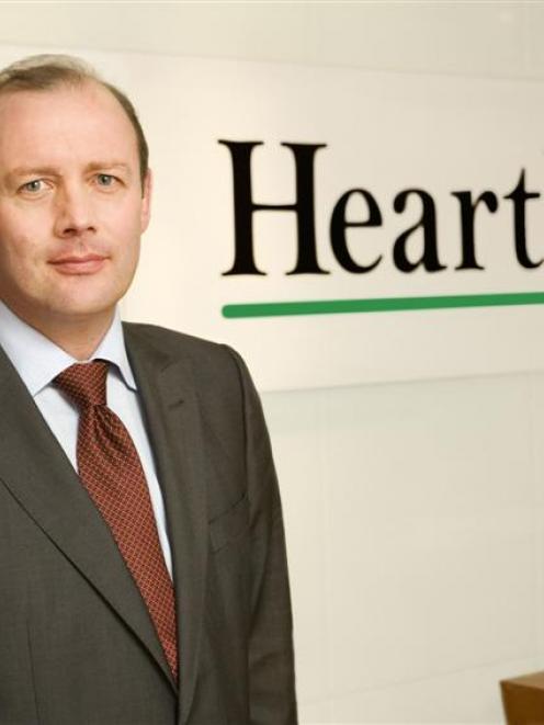 Heartland chief executive Jeff Greenslade. Photo supplied.
