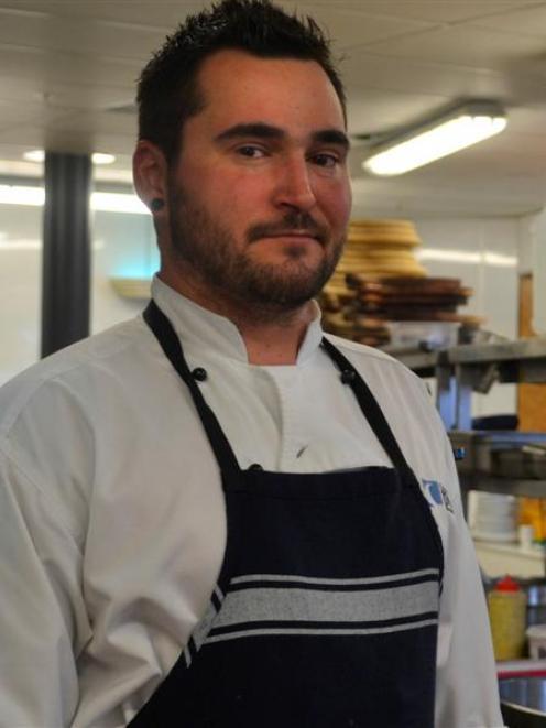 Heidi's Hut chef Trevor Meagher. Photo by Morgan McFie.