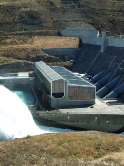 Higher South Island rainfall boosted hydro generation for Contact Energy. Pictured is Contact's...