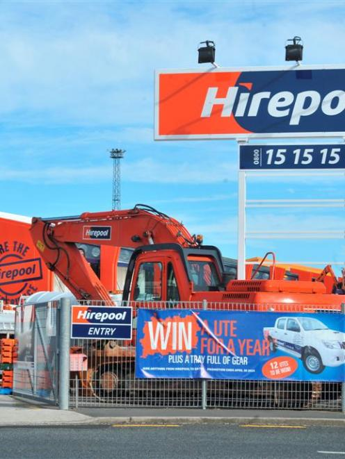 Hirepool is expecting a big boost from the Christchurch rebuild. Photo by Craig Baxter.