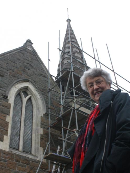 Historic Iona Church Restoration Trust member Mary Inglis ...