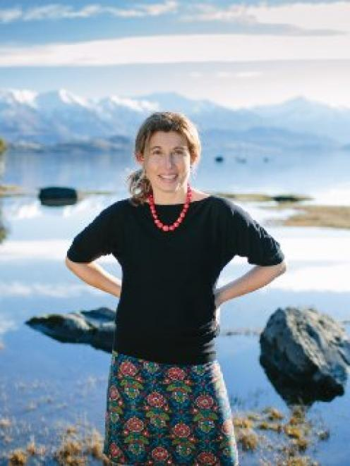 Holistic skincare company founder Nicki Hanning draws inspiration from the Wanaka area. Photo by...