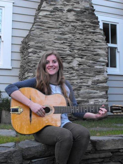 Holly Arrowsmith (18), of Arrowtown, was last year's Songstars singer-songwriter competition...