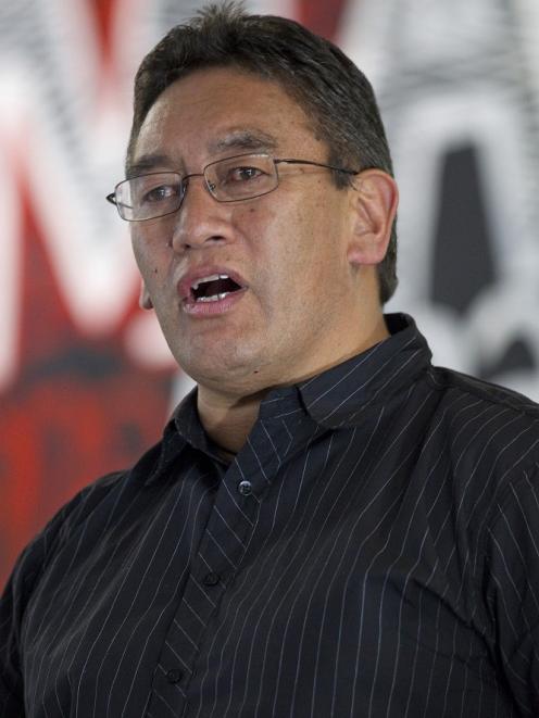 Hone Harawira. Photo NZPA