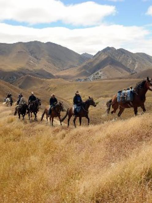 Horse-trekking has become a very popular and growing recreational activity. Photo by Stephen...