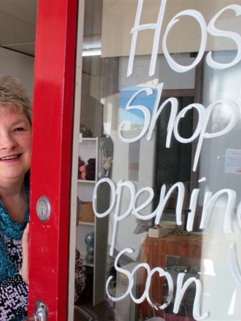 Hospice OpShop Mosgiel volunteer Anne Bulger prepares to open a second shop in the town. Photo by...