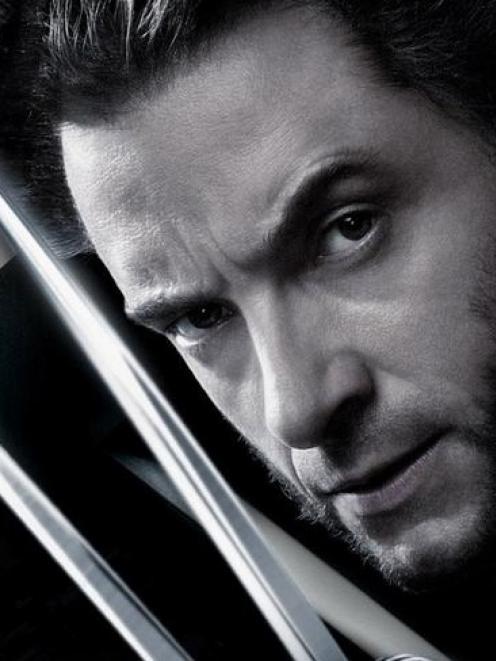 Hugh Jackman in his title role in X Men Origins: Wolverine. Photo supplied.