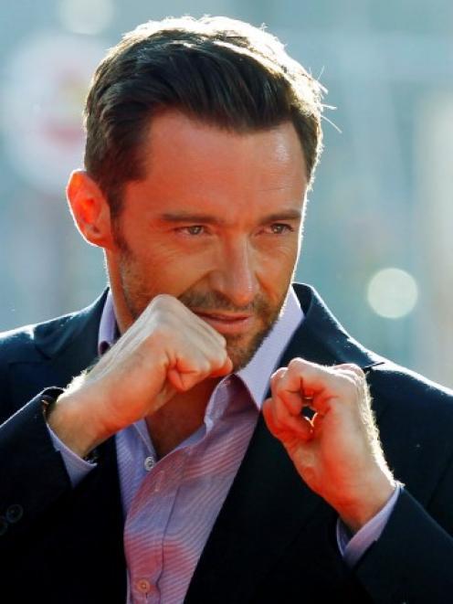 Hugh Jackman, ready to take on the role of James Bond.