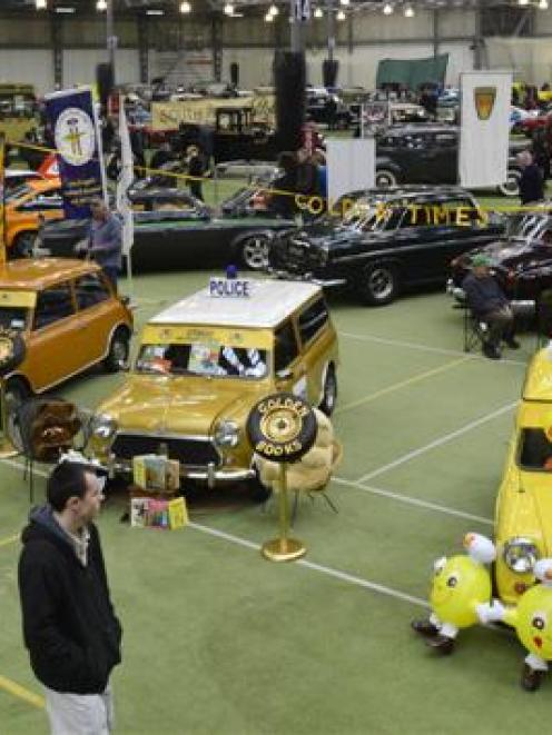 Hundreds of people enjoyed viewing vehicles ranging in size from a Mini to a restored bus at the...