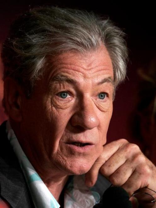 Ian McKellen has revealed he has prostate cancer. Photo by Reuters