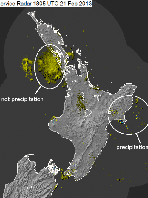 Image from MetService.