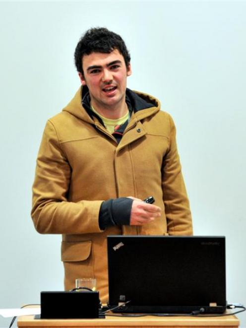 Immunology and microbiology PhD student Ed Taylor presents his research on the role immune system...