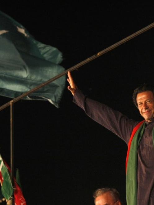 Imran Khan. Photo by Reuters