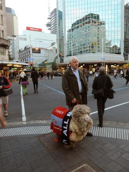 In this photograph published in the <i>Otago Daily Times</i> on June 12 last year, John Perriam...
