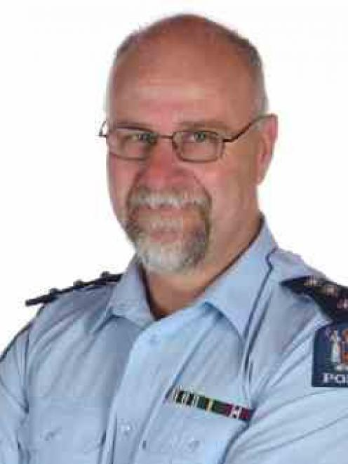 Inspector Greg Sparrow.